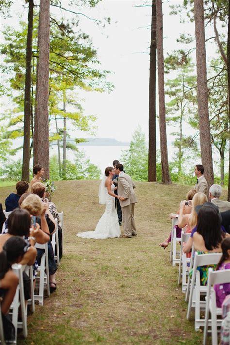 real wedding michigan wedding venues campground wedding