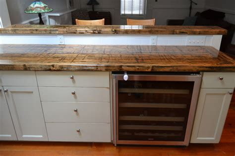 wood countertops denver reclaimed railcar truck bed planks traditional kitchen countertops denver by reclaimed
