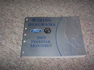 2005 Ford Freestar Electrical Wiring Diagram Manual S Se