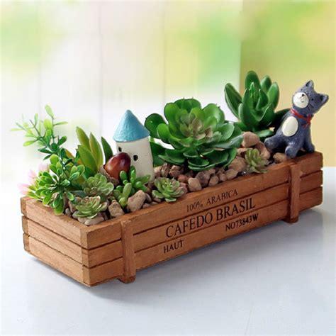 wooden garden products vintage garden supplies wooden garden planter window box trough pot succulent flower bed plant