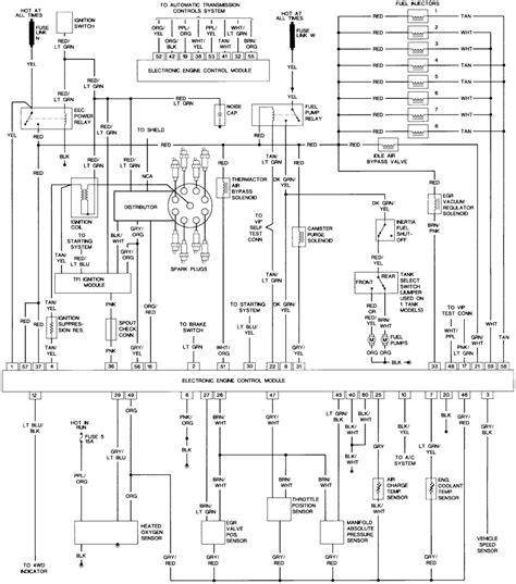 1987 Ford F 150 Wiring Diagram Free by Diagram Of Ford 1990 460 Engine Downloaddescargar