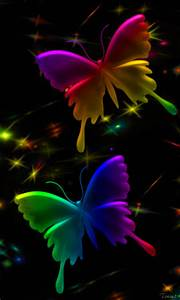 Pin Neon Butterflies Rainbow Neonrainbow on Pinterest