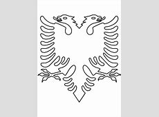 Albanian Eagle no background Icons PNG Free PNG and