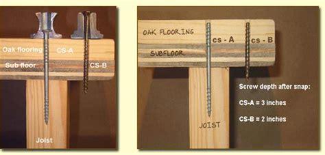 squeaky floor screws carpet counter snap floor repair kit the fix for squeaky