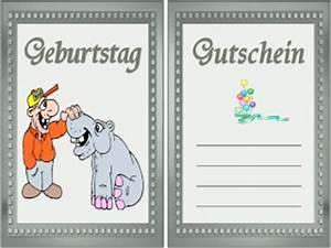 Gutschein Muster Geburtstag : geburtstag gutschein vorlage kostenlos ~ Markanthonyermac.com Haus und Dekorationen