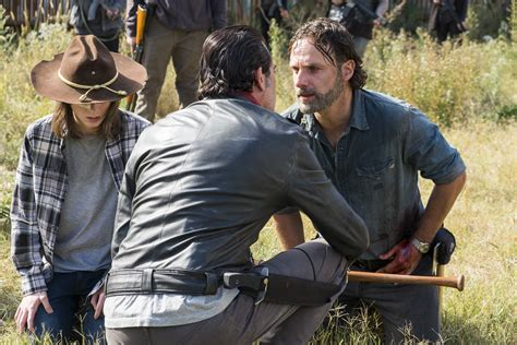 walking dead season 8 spoilers why andrew lincoln can