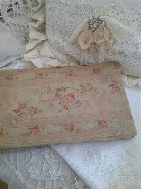 images  boxes  pinterest vintage fabrics fabric covered  storage boxes