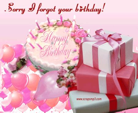 belated happy birthday greeting and for
