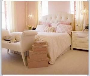 Chambre Rose Pale : chambre coucher f minine romantique paperblog ~ Melissatoandfro.com Idées de Décoration