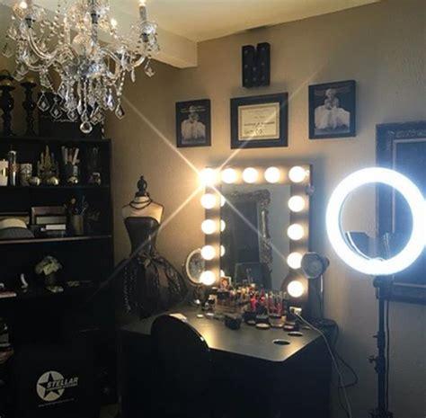 the vanity room black makeup room inspo vanity