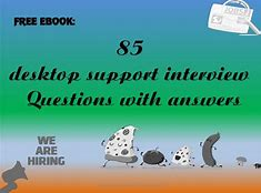 Desktop support interview questions pdf download