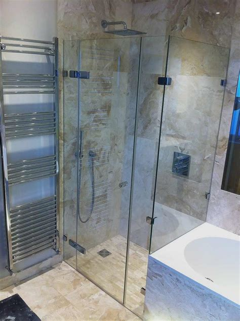 At Shower by Made To Measure Bespoke Frameless Shower Ideas