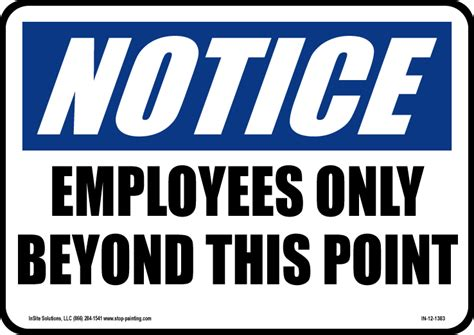 Free Printable Staff Only Signs. Printable Employees Only
