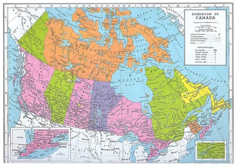 canada map political city map  canada city geography