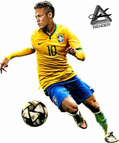Neymar Jr Brazil Pes Transparent Render Football