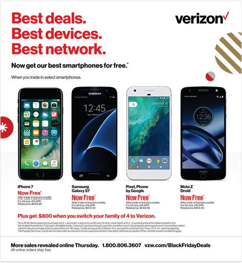 verizon smartphone deals verizon black friday 2017 ads deals and sales