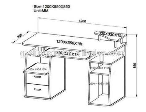 dimensions bureau moderne foto bureau thuis meubels dx 8514b houten