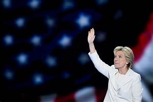With 'Humility,' Clinton Accepts Democratic Nomination