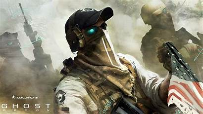 Recon Ghost Soldier Future Tom Clancy Background