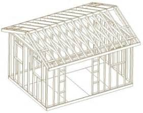 shed plans how to build a shed gable roof how to build