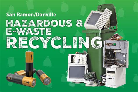 hazardous e waste recycling in san ramon danville