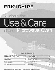 Frigidaire Fpbm3077rfb 1601243l User Manual Microwave Oven