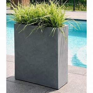 Grand Bac Pour Orchidées : bac plantes en fibre de terre ciment ~ Melissatoandfro.com Idées de Décoration