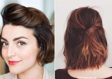 ideas  peinar el cabello corto