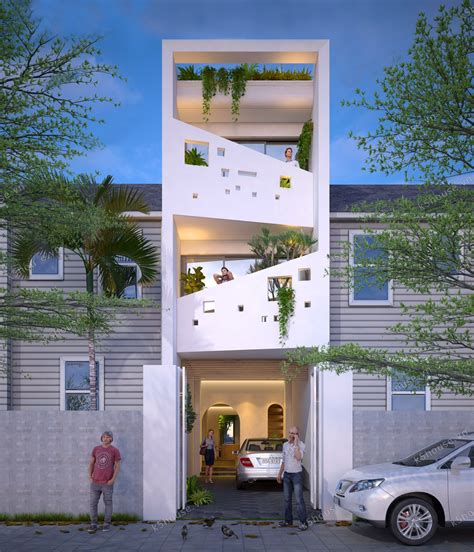 Narrow Lot House Designs by 50 Narrow Lot Houses That Transform A Exterior Into
