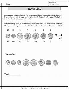 Counting Coins Worksheets From The Teacher U0026 39 S Guide