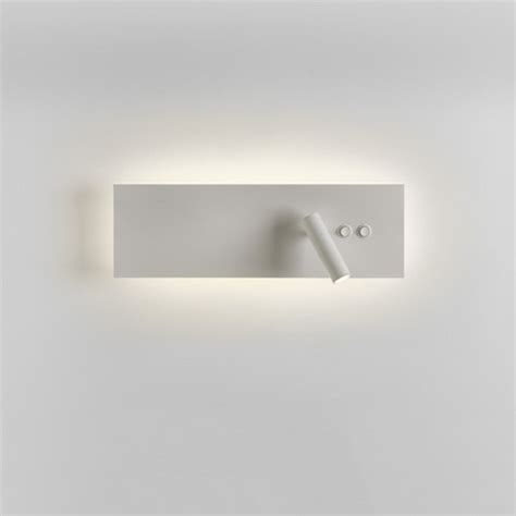 hotel syle over bed wall light with adjustable led book reading arm