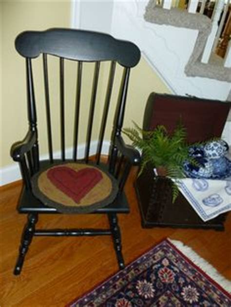 Vintage Hooked Chair Pads by Nautical Hooked Chair Pad Nantucket Cottage Bedroom