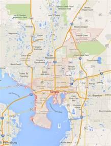 Tampa Florida Map