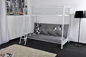 le lit mezzanine ou le lit superspose quelle variante With tapis chambre bébé avec canapé lit superposé ikea