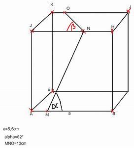 Sinus Cosinus Tangens Winkel Berechnen : winkel in einem w rfel berechnen mit der trigonometrie mathelounge ~ Themetempest.com Abrechnung