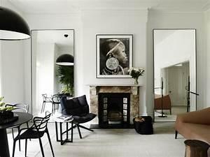 Miroir Deco Salon : salon d co contemporaine 65 int rieurs inspirants ~ Melissatoandfro.com Idées de Décoration