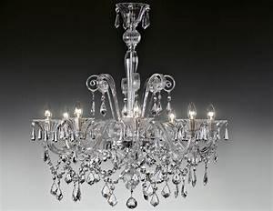 Murano Glass Chandelier Modern : nella vetrina lulu 9016 8 modern italian chandelier clear murano glass ~ Sanjose-hotels-ca.com Haus und Dekorationen