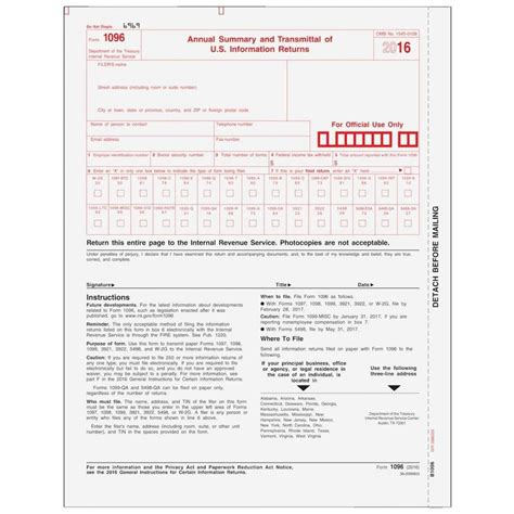 irs form 1096 extension universal network