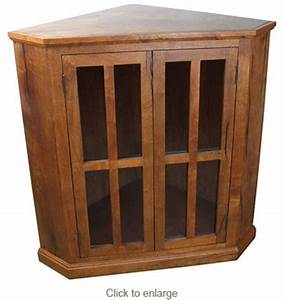 short mesquite corner cabinet with glass doors With kitchen cabinets lowes with mexican glass candle holders