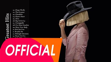 Sia Greatest Hits 2016