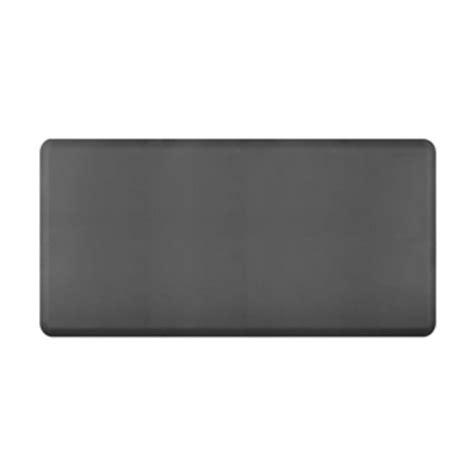 grey kitchen mat wellnessmats anti fatigue kitchen floor mat grey 6x3