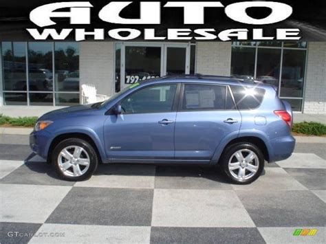2008 Pacific Blue Metallic Toyota Rav4 Sport #18107586
