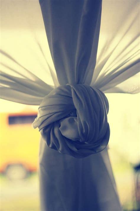 chiffon curtain knot pillows  curtains home decor