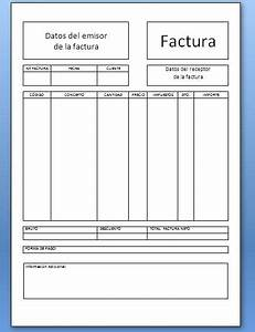 factura proforma en blanco good factura with factura proforma en