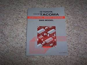 2005 Toyota Tacoma Truck Electrical Wiring Diagram Manual