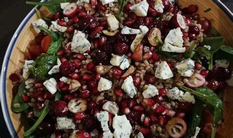 Veselīgo speltas kviešu salāti