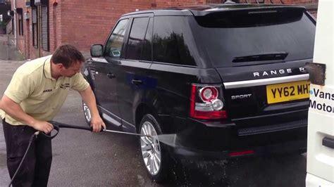 Range Rover Getting Glistened By Glisten Mobile Valeting