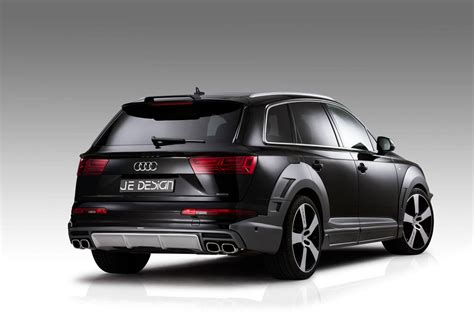 audi q7 official audi sq7 and q7 widebody by je design gtspirit