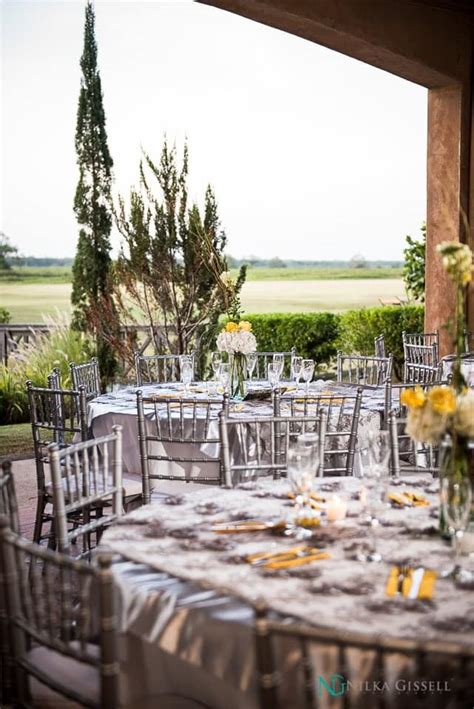 hacienda campo rico yellow  gray wedding nilka