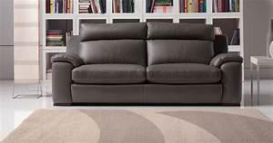 canape cuir moderne confortable haut dossier sur univers With canapé cuir dossier haut